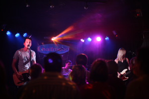 Photos of Aynsley Lister playing a gig