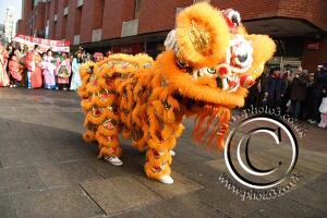 Photo of Dragon dancer at Chinese New Year Parade Photos in Medway