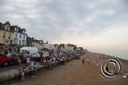 Photo of Deal seafront on carnival day
