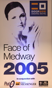 Face Of Medway at Dockside Competition