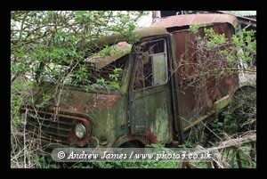 The End of the Road, Abandoned Derelict Van Kent
