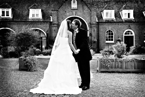 Black And White Photos For Your Kent Wedding Photography In